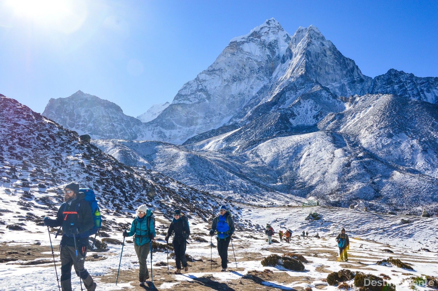 trekking al everest