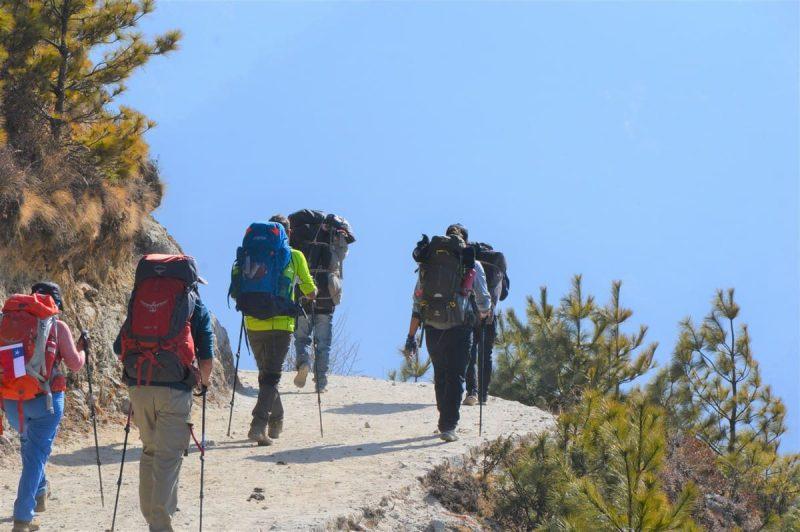 Trekking al Everest