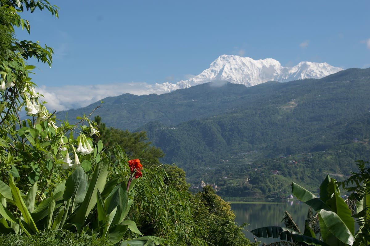 monsón en Nepal