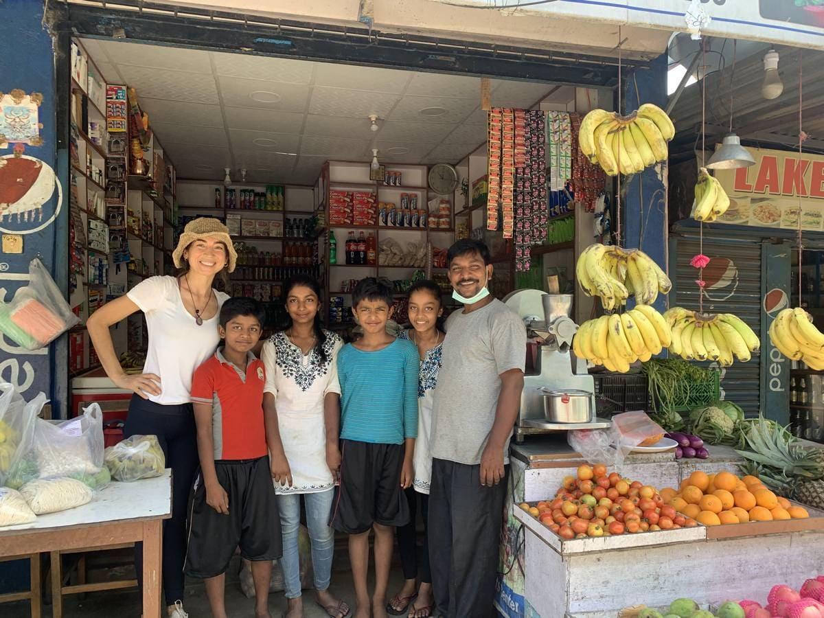 familia de Gupta - Nepal